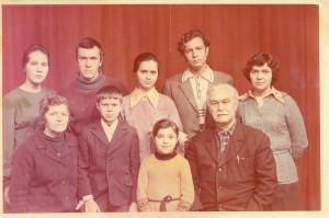 Семья Николая Петровича Храпова