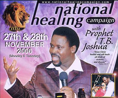 Post image for «Безрассудство в Нигерии?» — перевод статьи о Ти Би Джошуа, SCOAN — Синагога церкви всех народов.